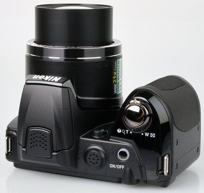 Nikon Coolpix L310 Top