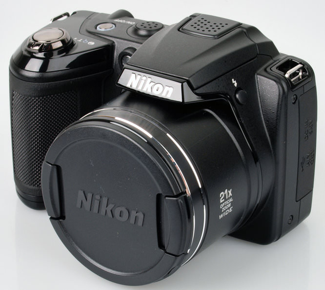 Nikon Coolpix L310 With Lens Cap