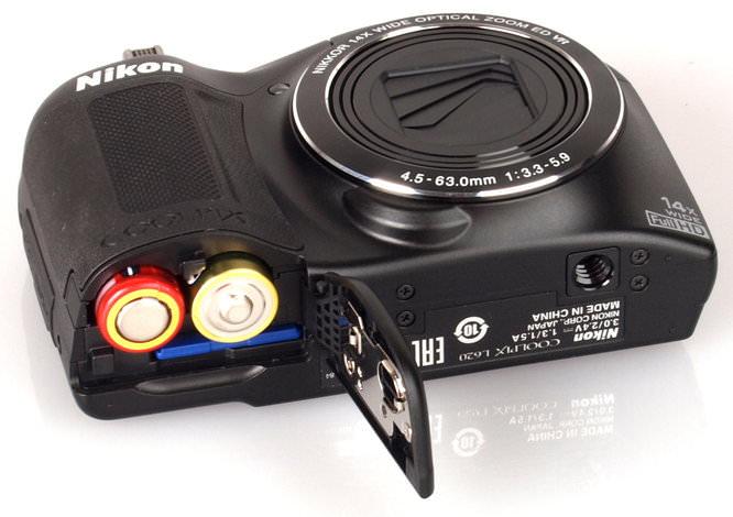 Nikon Coolpix L620 Black (7)