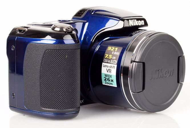 Nikon Coolpix L810 Front Angled