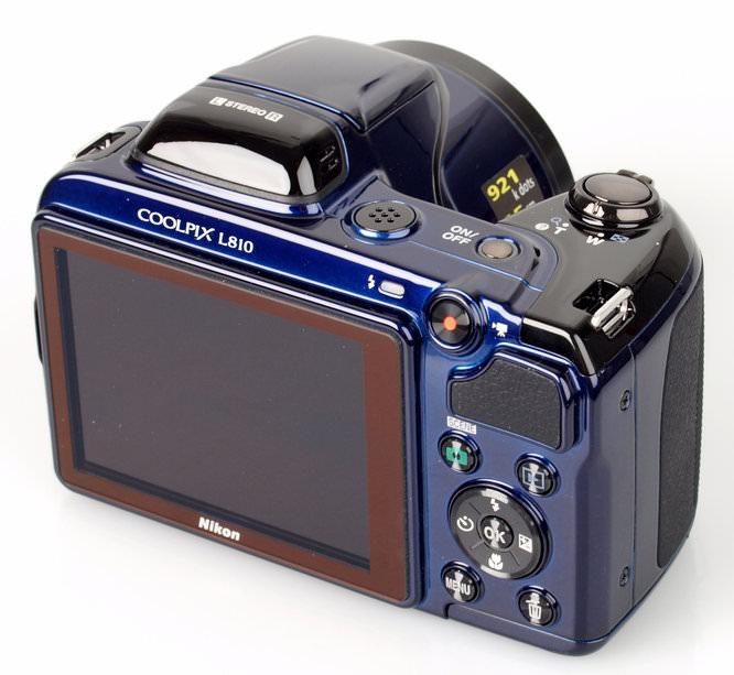 Nikon Coolpix L810 Rear