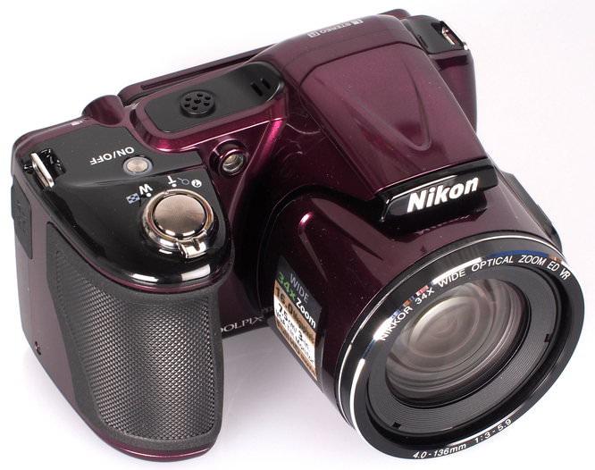Nikon Coolpix L830 Plum (3)