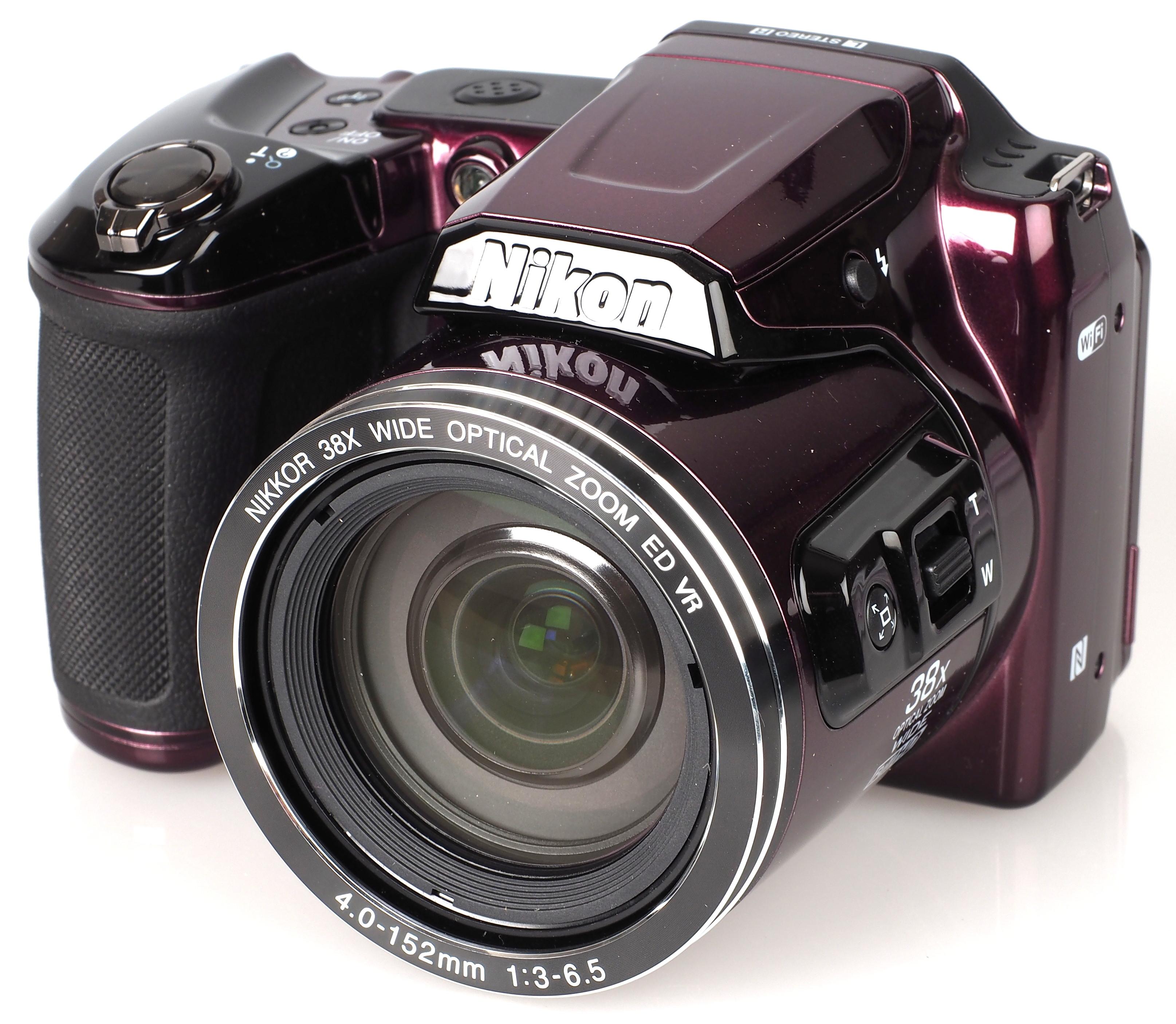 Цифровой фотоаппарат nikon coolpix l840 black отзывы