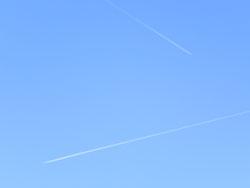 Nikon Coolpix P100 blue sky