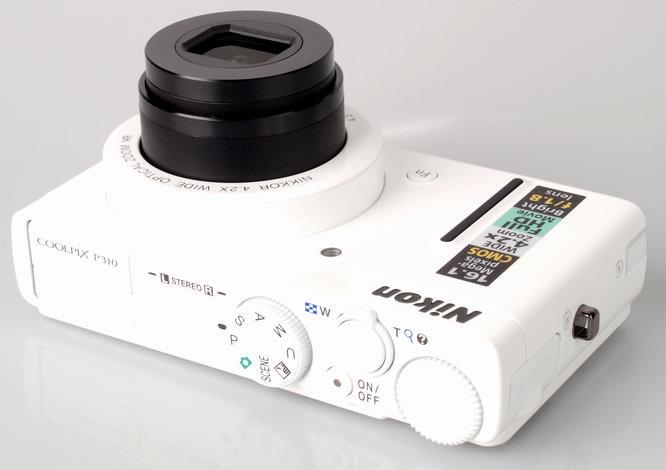 Nikon Coolpix P310 Top