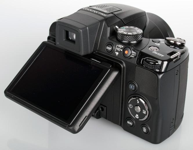 Nikon Coolpix P500 screen