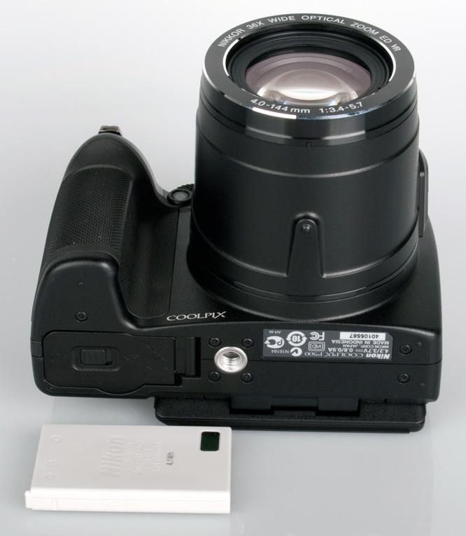 Nikon Coolpix P500 battery