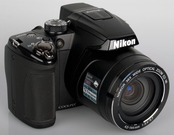 Nikon Coolpix P500 front lens