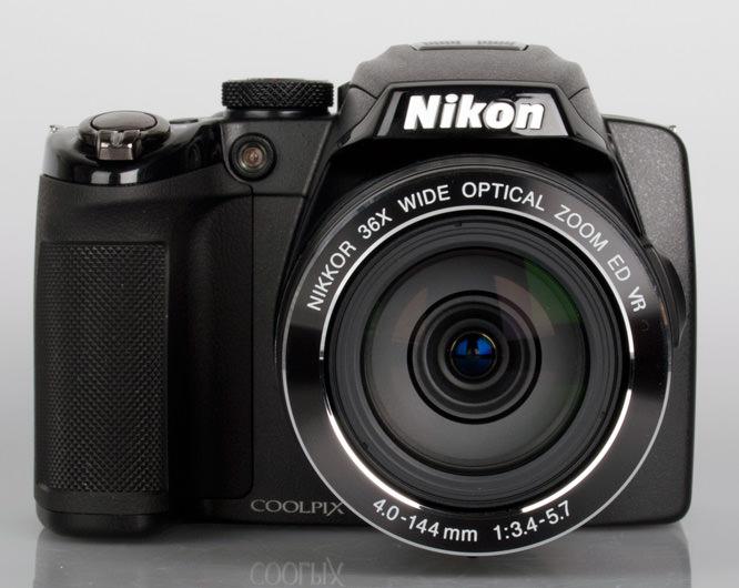 Nikon Coolpix P500 front