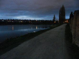 Nikon Coolpix P500 night landscape