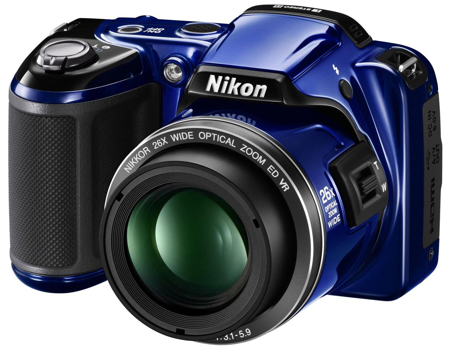 nikon coolpix p510 and l810 digital compact cameras. Black Bedroom Furniture Sets. Home Design Ideas