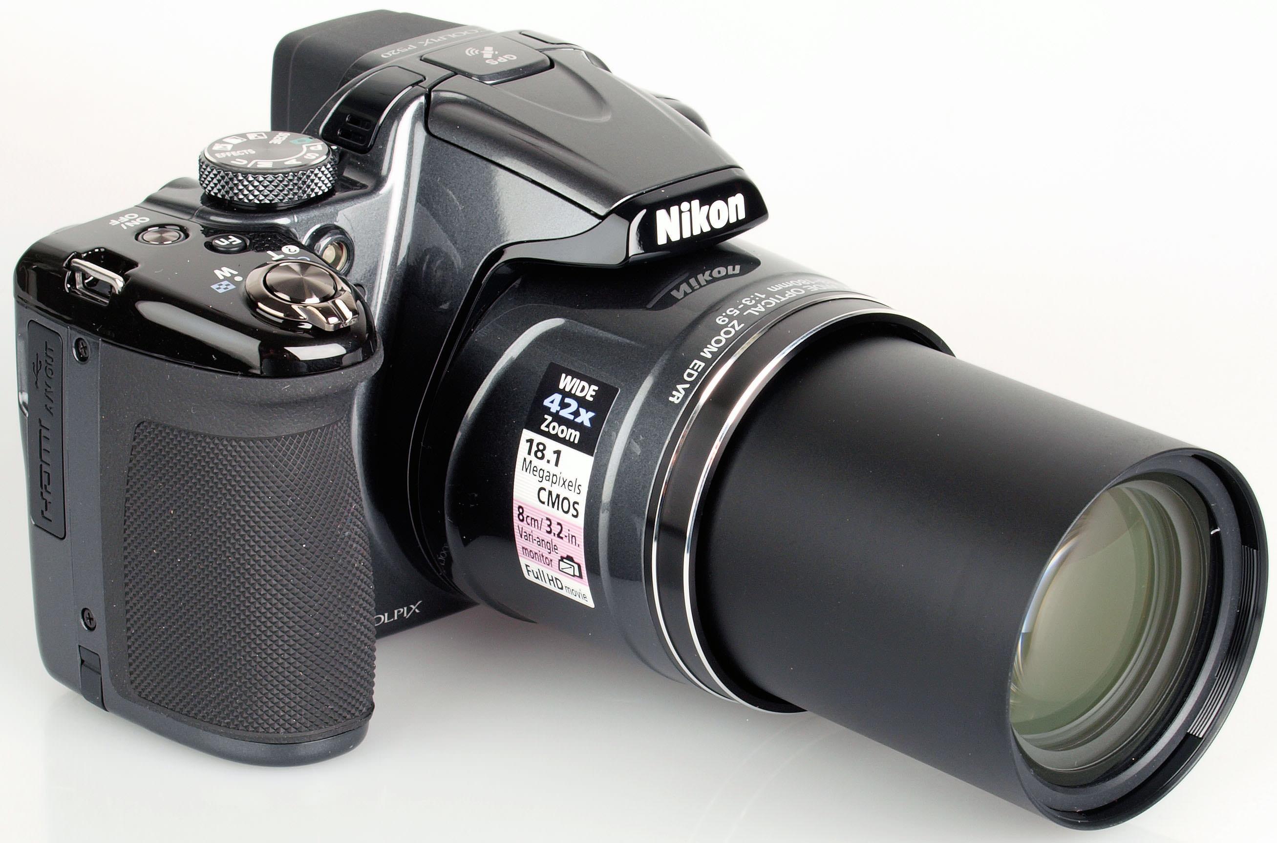 Nikon COOLPIX P520 Camera Last