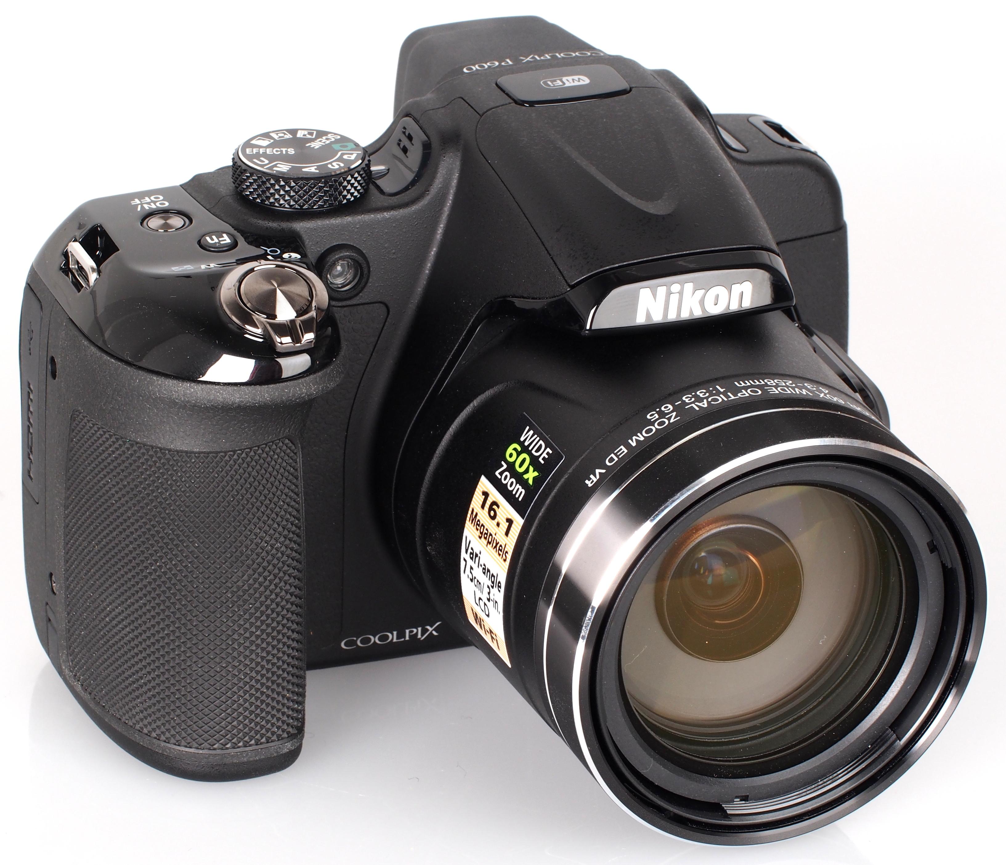 Nikon COOLPIX P600 Camera Driver Download (2019)
