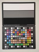 Nikon Coolpix P7000 Test chart ISO100