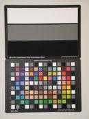 Nikon Coolpix P7000 Test chart ISO1600