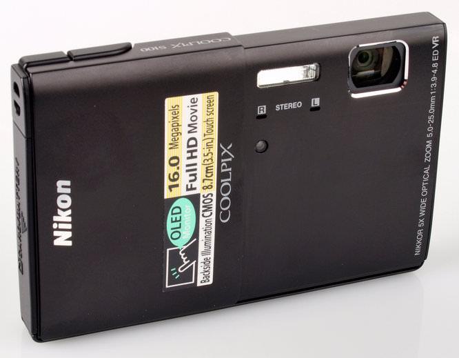 Nikon Coolpix S100 Angled