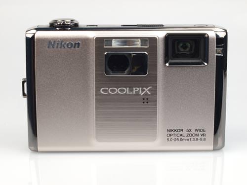 Nikon Coolpix S1000pj front view