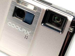 Nikon Coolpix S1000pj projector lens