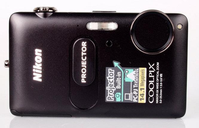 Nikon Coolpix S1200pj Front