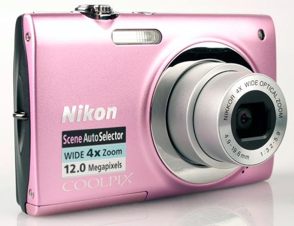 Nikon Coolpix S2500 front lens