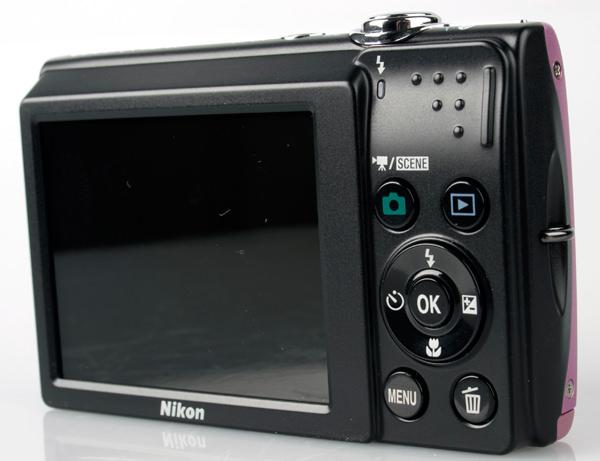 Nikon Coolpix S2500 rear