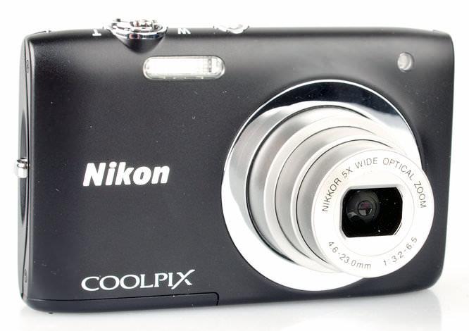Nikon Coolpix S2600 Lens Extended