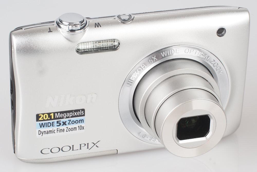 Nikon Coolpix S2900 Silver (2)