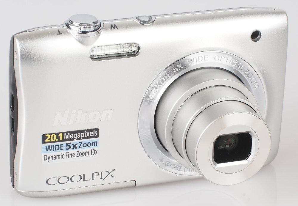 Nikon Coolpix S2900 Silver (3)