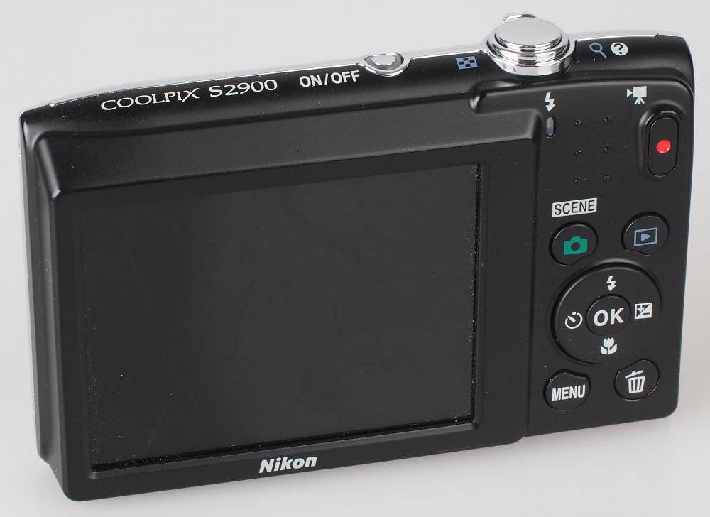 Nikon Coolpix S2900 Silver (6)