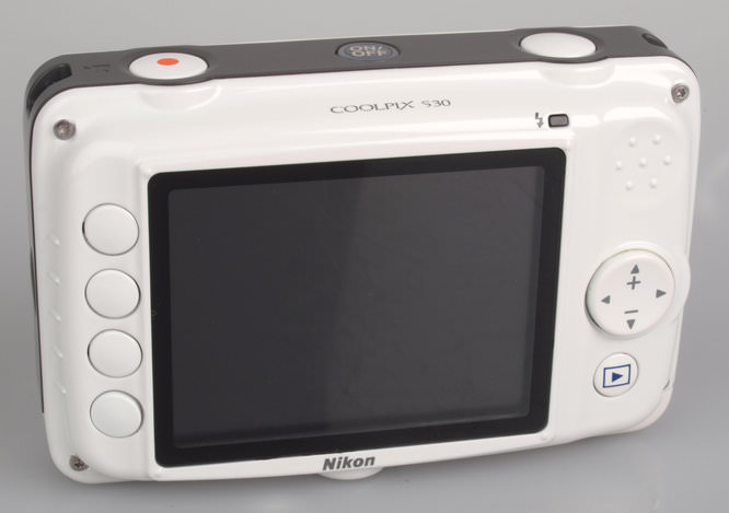 Nikon Coolpix S30 Rear