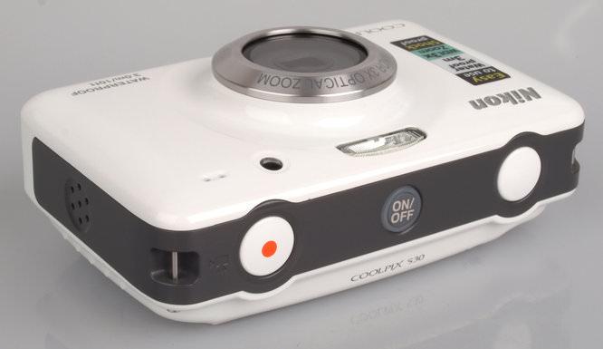 Nikon Coolpix S30 Top White