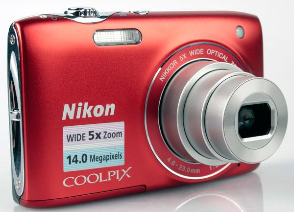 Nikon Coolpix S3100 front lens