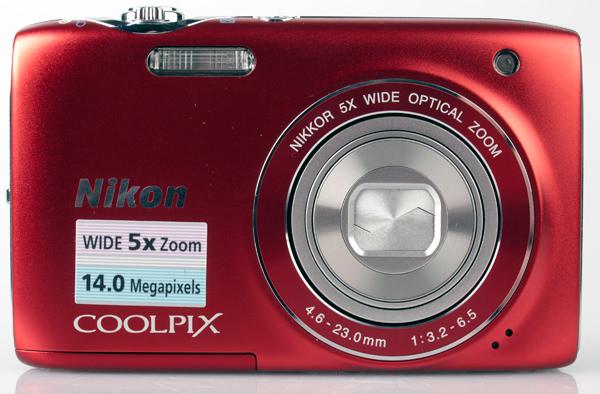 Nikon Coolpix S3100 front