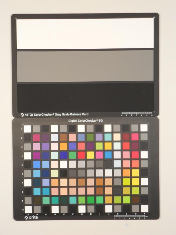 Nikon Coolpix S3100 Test chart ISO80