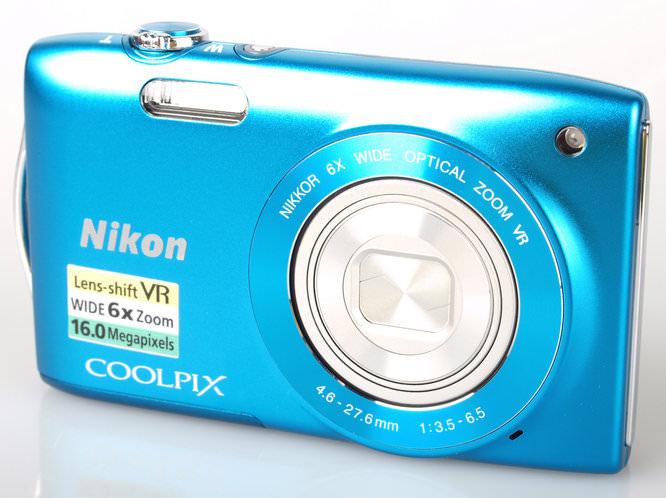 Nikon Coolpix S3300 Front 2