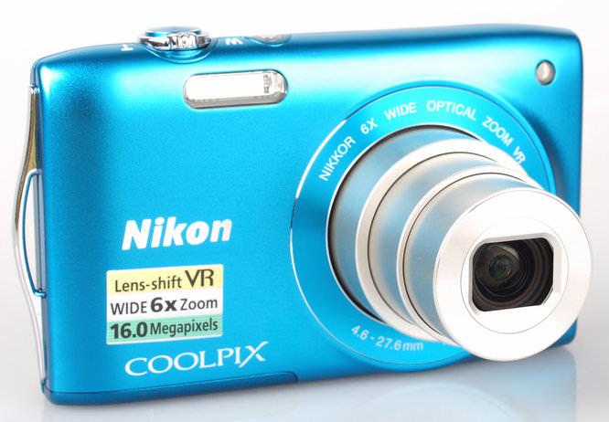 Nikon Coolpix S3300 Lens Extended