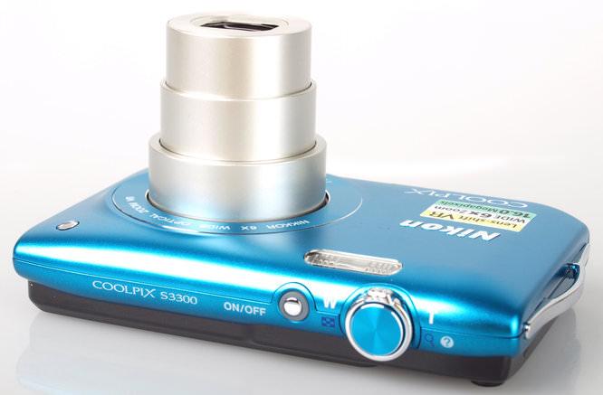 Nikon Coolpix S3300 Top
