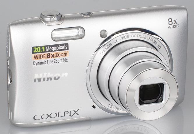 Nikon Coolpix S3600 Silver (5)