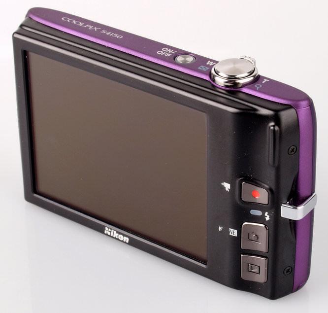 Nikon Coolpix S4150 Screen