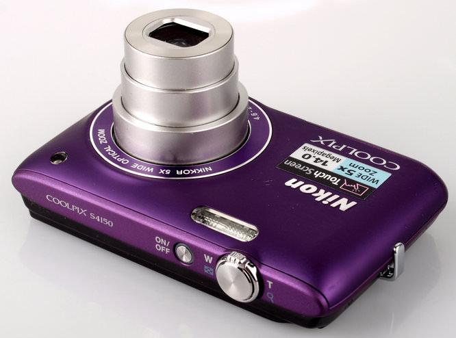 Nikon Coolpix S4150 Top