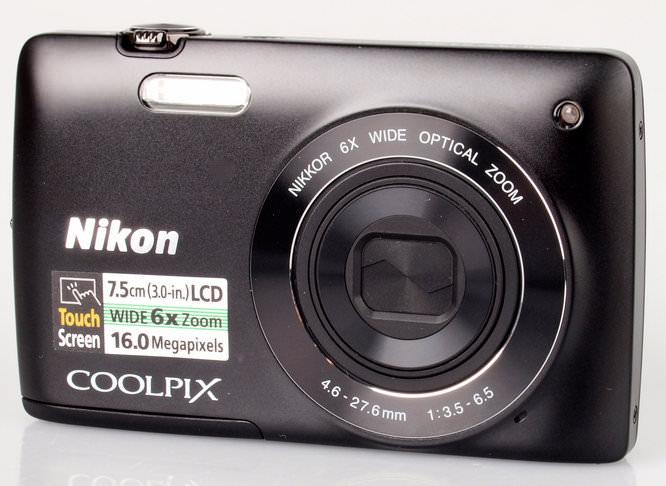 Nikon Coolpix S4200 Front