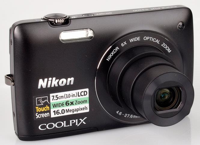 Nikon Coolpix S4200 Lens Extended