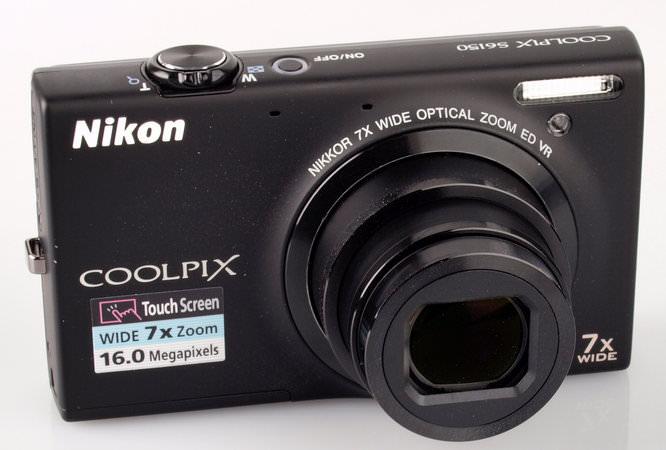 Nikon Coolpix S6150 Lens Extended
