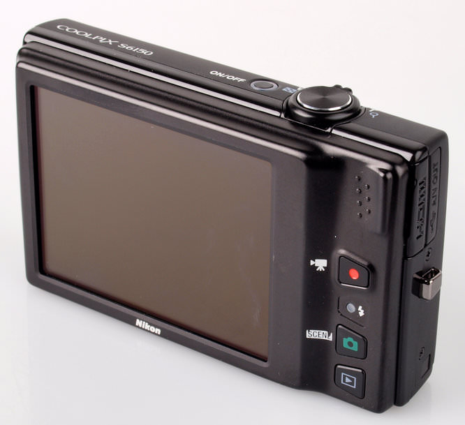 Nikon Coolpix S6150 Screen
