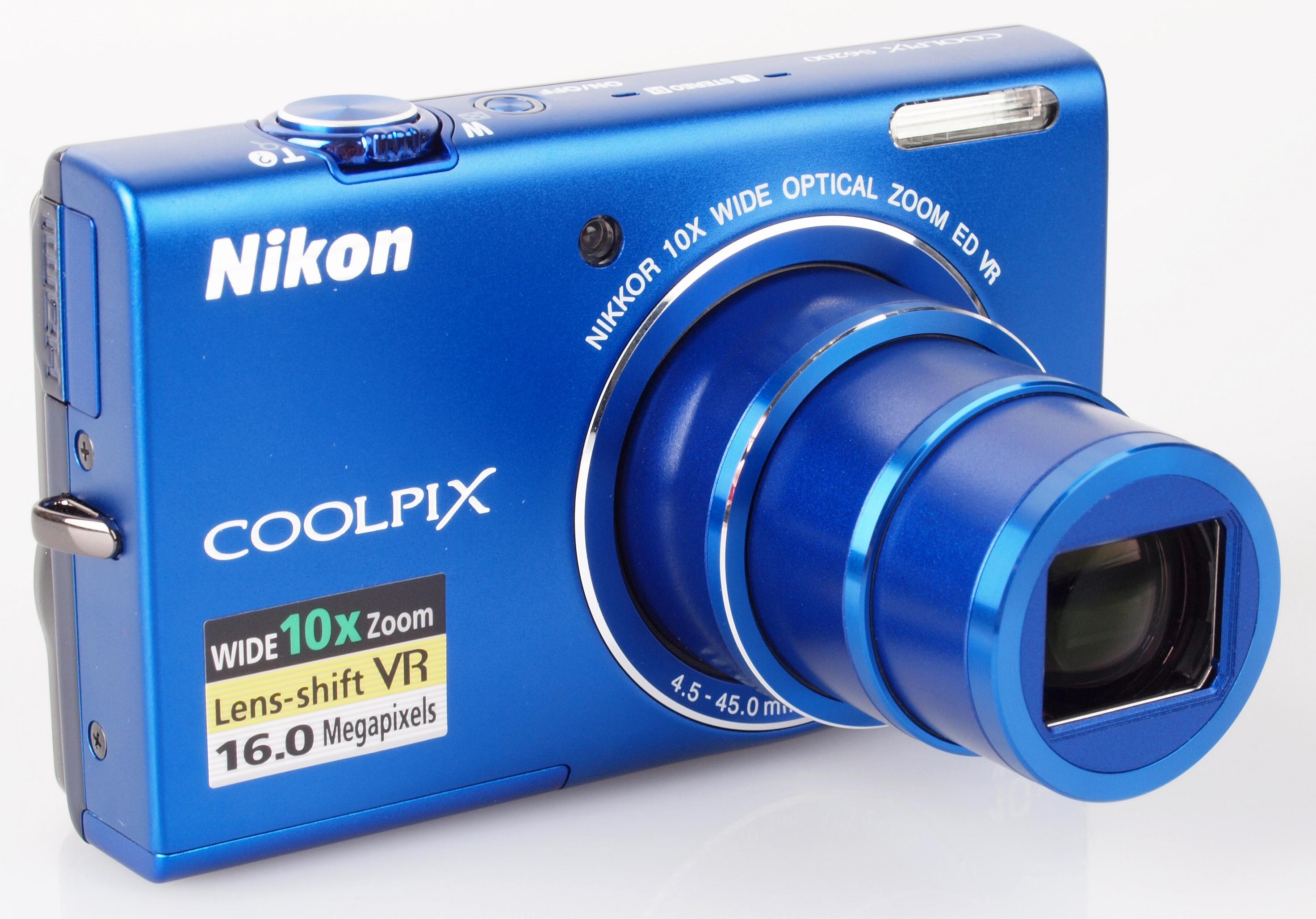 Nikon COOLPIX S6200 Camera 64Bit