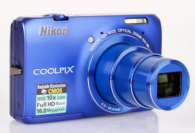 Nikon Coolpix S6300 Lens Extended