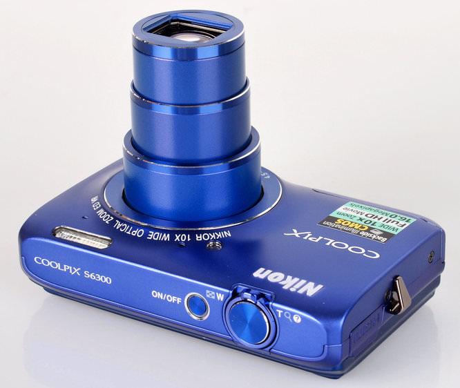 Nikon Coolpix S6300 Top