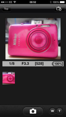 Nikon Coolpix S6600 Ios App Screenshot 4 |