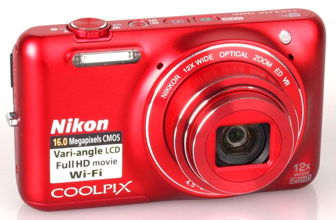 Nikon Coolpix S6600 Red (3)