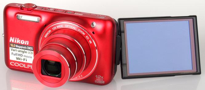 Nikon Coolpix S6600 Red (4)